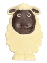Belgian White Chocolate Sheep